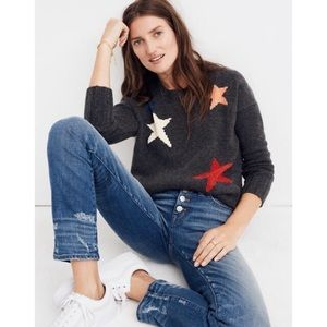 Madewell Starry Night Pullover Sweater S